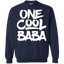 One-Cool-Baba---Grandfather-Dad-Gift-Pullover-Sweatshirt---Teeever.com-Black-S-