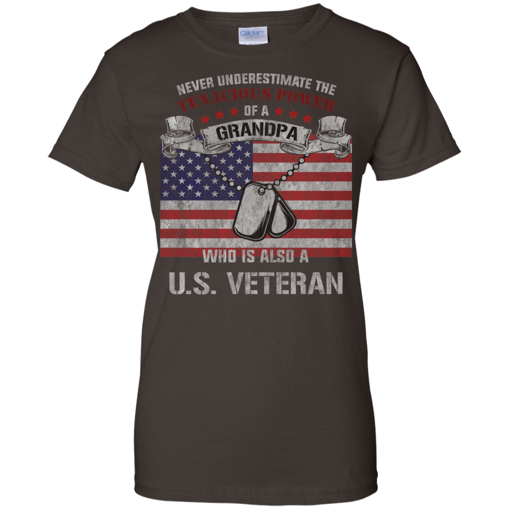 Never-underestimate-the-tenacious-power-of-grandpa-who-is-also-a-US-VETERAN-Ladies-T-Shirt-Black-XS-
