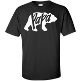 Papa-bear-Custom-Ultra-Cotton-T-Shirt-Black-S-