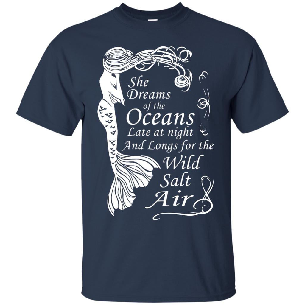Mermaid-Maiden---She-Dreams-of-the-Oceans-T-Shirt-Black-S-