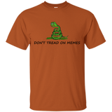 Pepe-Frog,-Don't-Tread-On-Memes-T-Shirt-Ash-S-