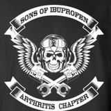 Sons-of-ibuprofen-arthritis-chapter-Cotton-T-Shirt-Black-S-