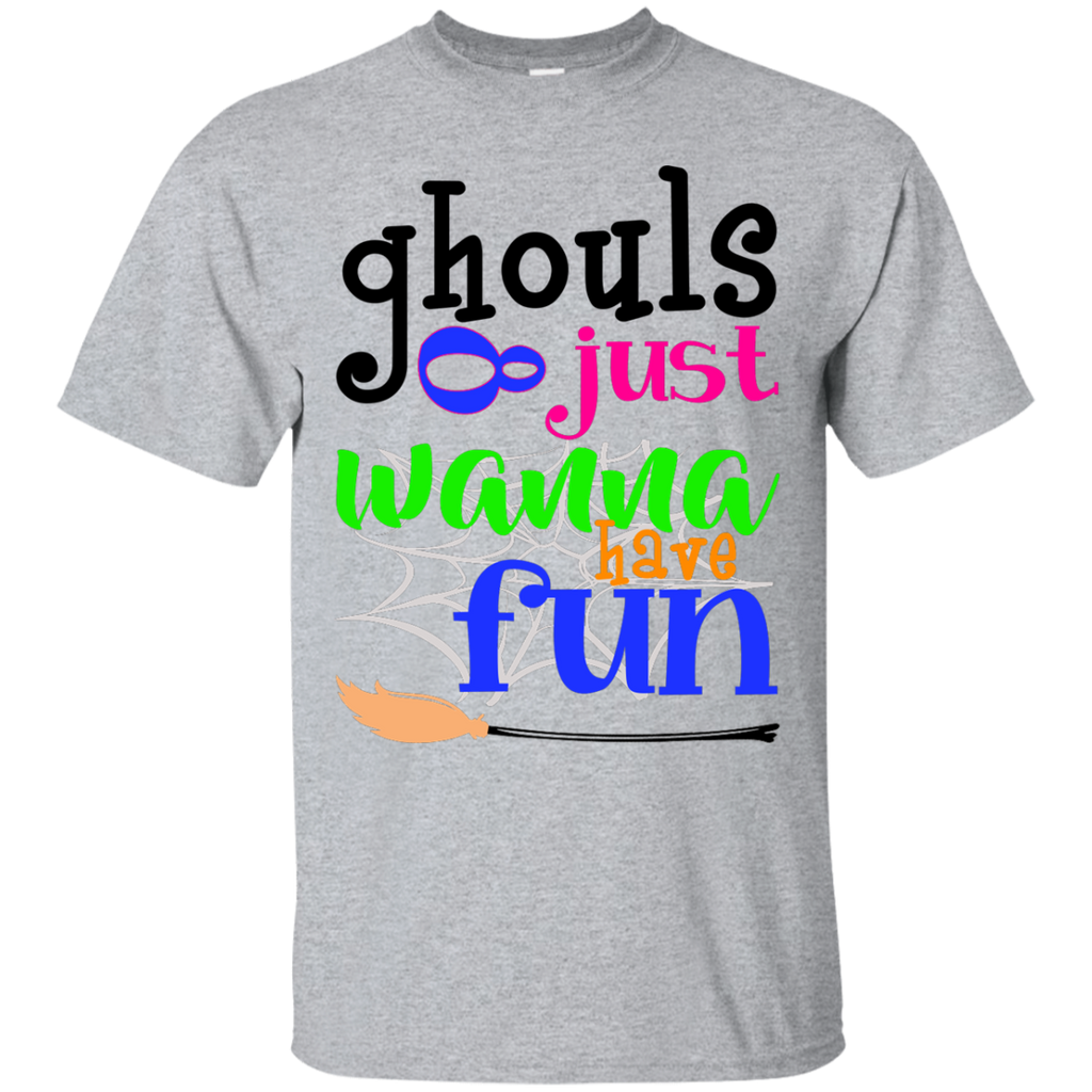 Ghost-raglan---Halloween-.-ghoul-tee---witch-T-Shirt-Sport-Grey-S-