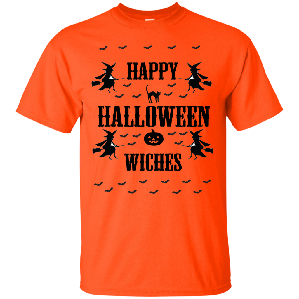 Happy-Halloween-Witches---Baseball-ringer-tee---T-Shirt-Sport-Grey-S-