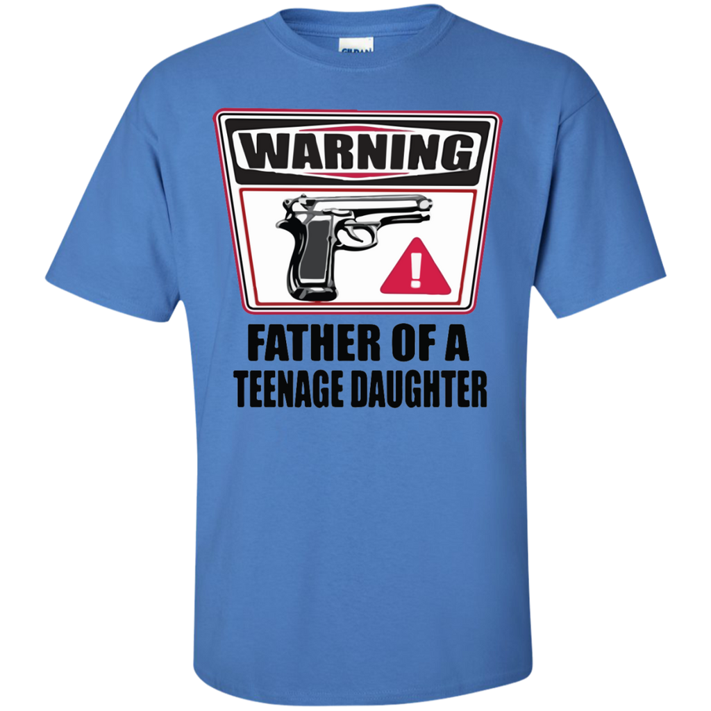 Father-of-a-Teenage-Daughter-T-Shirt-White-S-