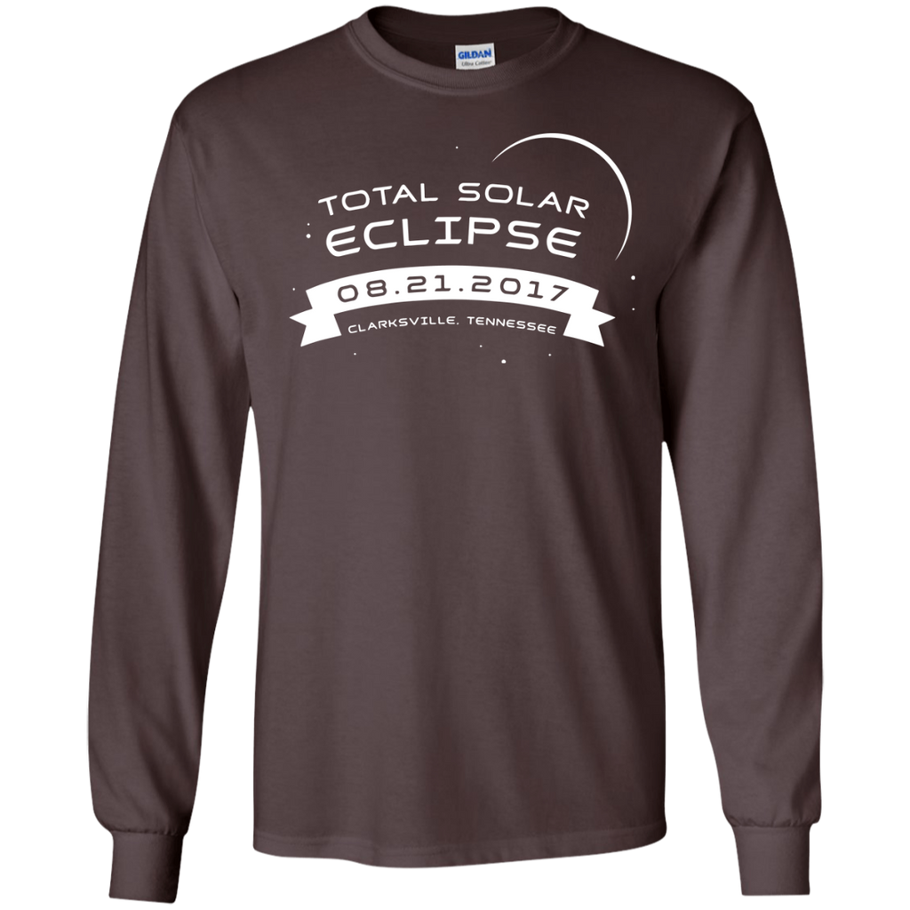 Total-Solar-Eclipse-2017-Clarksville-Tennessee-LS-T-Shirt-Black-S-