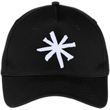 Kurt-Vonnegut.-Five-Panel-Twill-Cap-Black-One-Size-