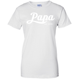 Papa-Ladies-Custom-100%-Cotton-T-Shirt-Sport-Grey-XS-