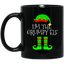 I'm-The-Grumpy-Elf-Matching-Family-Group-Christmas-Black-mugs-BM11OZ-11-oz.-Black-Mug-Black-One-Size