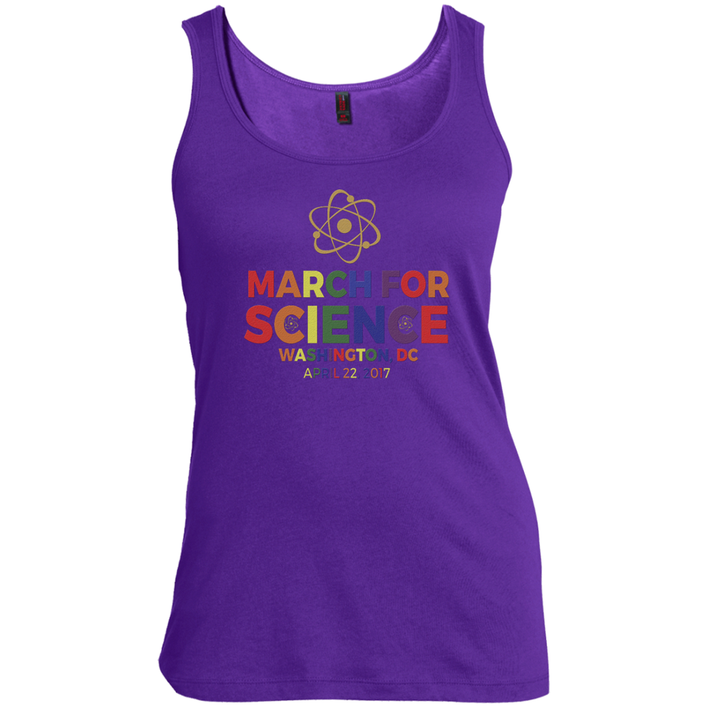 March-For-Science-Earth-Day-April-22-2017-Washington-DC--Men,Women-tank-top-100%-Cotton-Tank-Top-Ash-S