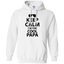 Keeo-calm-I'm-the-cool-Papa-Pullover-Hoodie-8-oz-Sport-Grey-S-