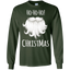 christmas,-santa-funny,-laugh-hohoho-LS-Ultra-Cotton-Tshirt-Forest-Green-S-