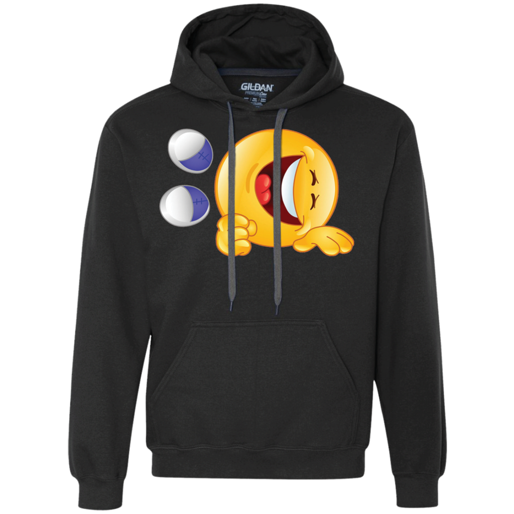 Emoji-Smile-face-Funny-Sweatshirt-Sport-Grey-S-