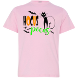 Just-a-Little-Hocus-Pocus.-Halloween-Youth-Jersey-T-Shirt-Pink-YXS-