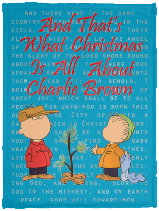 And That s What Christmas Is All About Charlie Brown