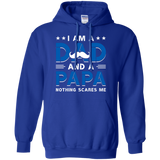 A-Dad-and-A-Papa.-Funny-Family---Daddy-Fathers-Day-Gift-Hoodie---TEEEVER-Black-S-