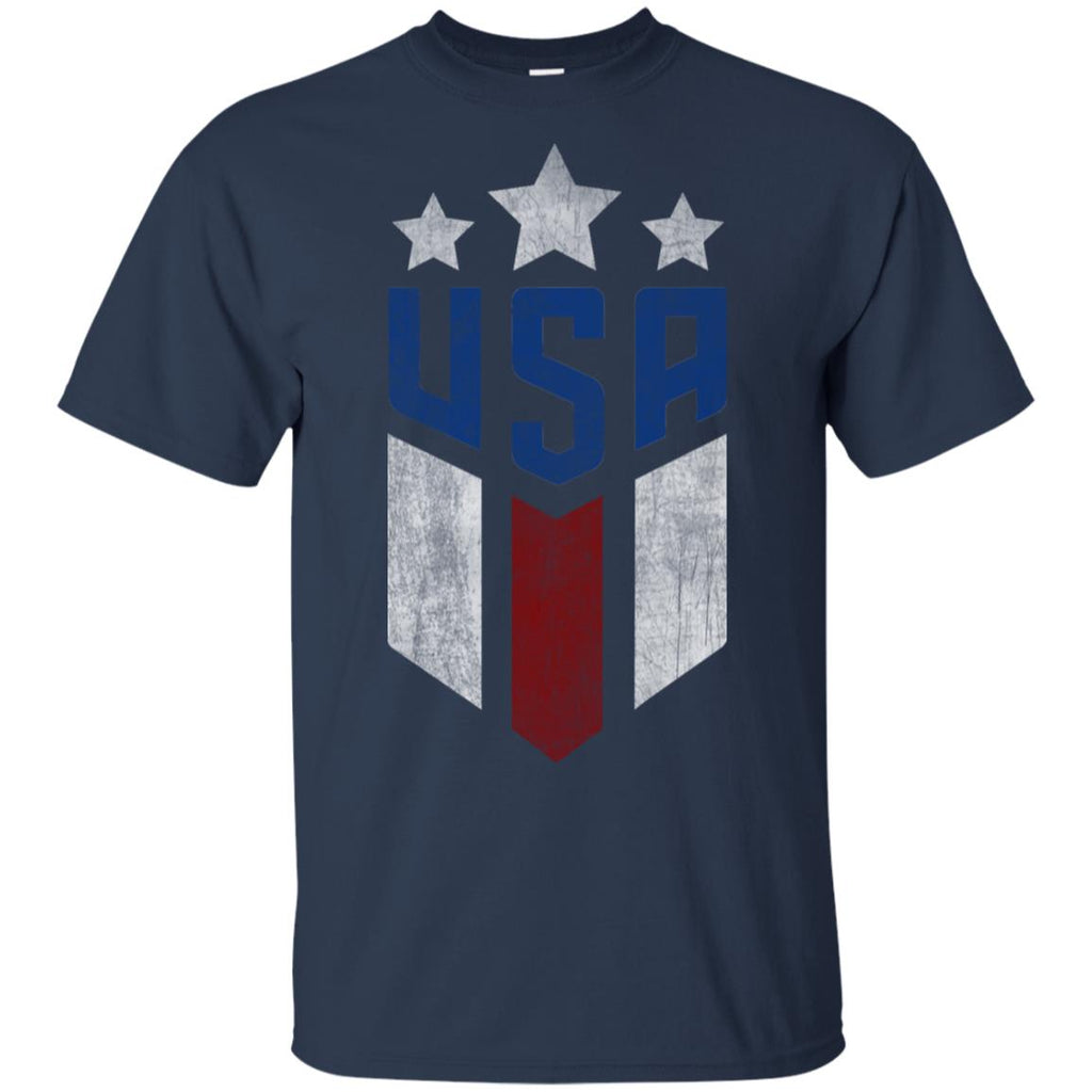 USA T-shirt  Cool USA Soccer T-shirt Womens Mens Kids - Uniform Unisex T-Shirt