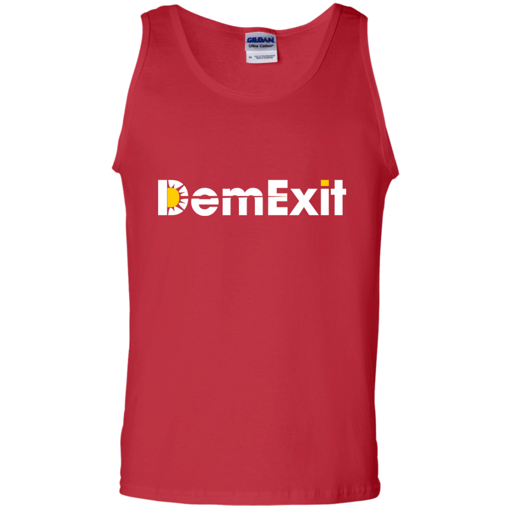 DemExit-100%-Cotton-Tank-Top-Black-S-