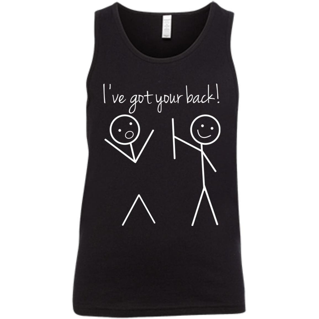 I Got Your Back Stick Figure Friendship Sarcastic