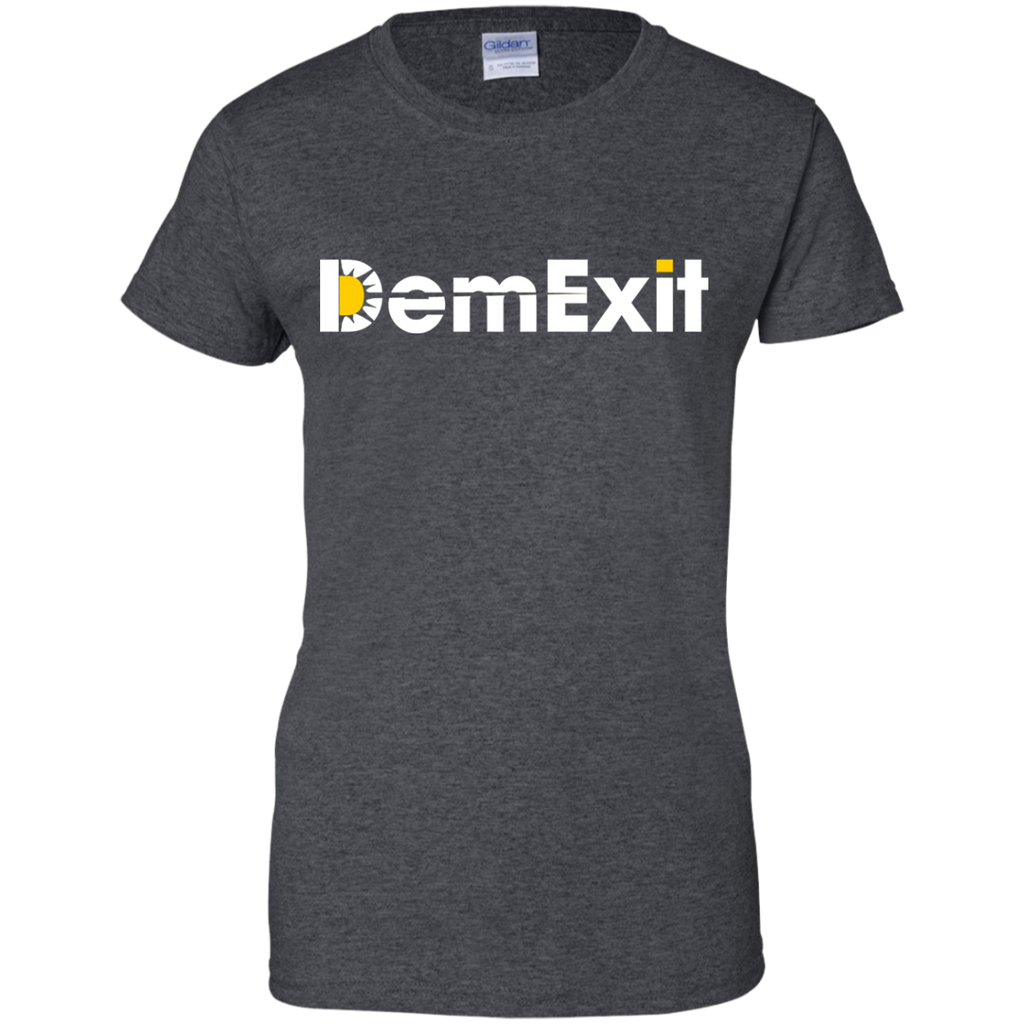 DemExit-Ladies-Custom-100%-Cotton-T-Shirt-Black-XS-