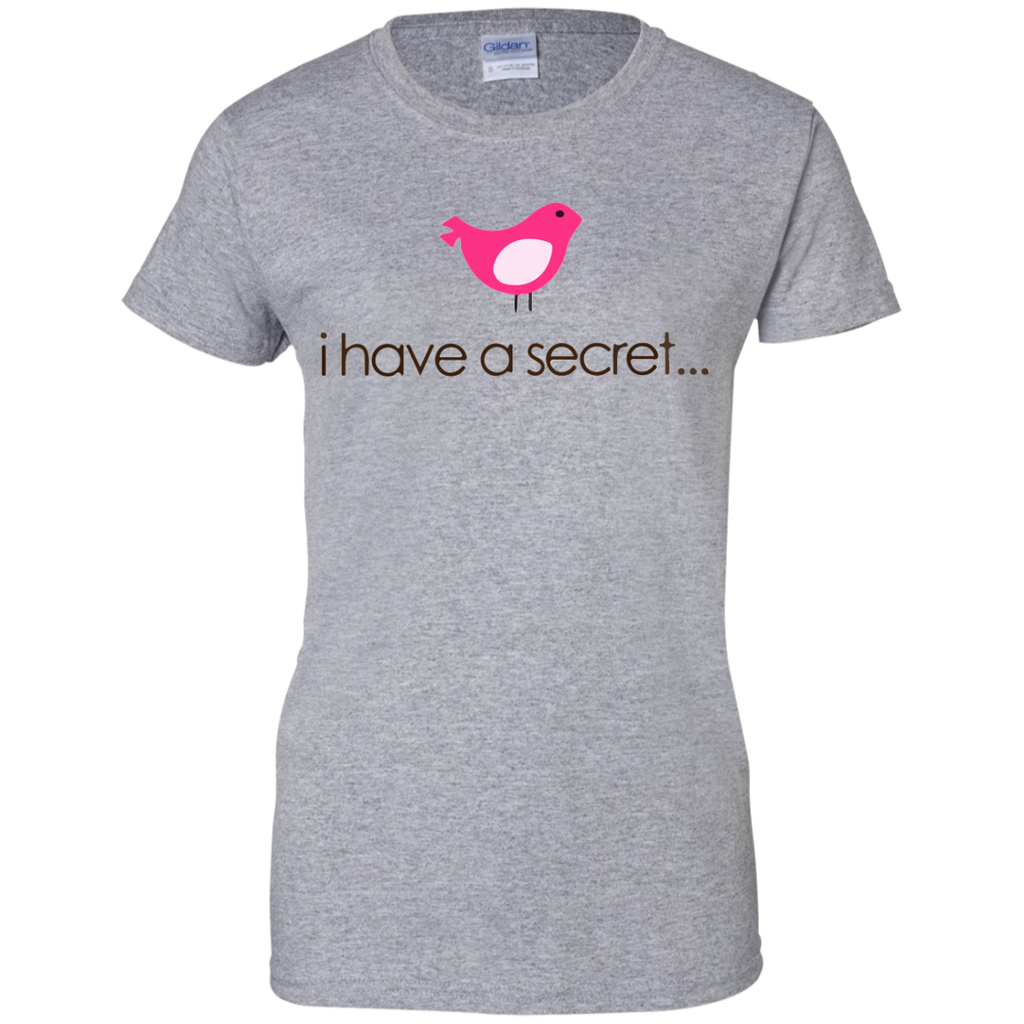 Ihave-a-secret-Ladies-Custom-100%-Cotton-T-Shirt-Sport-Grey-XS-