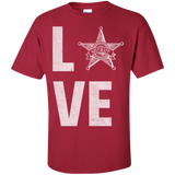 Love-Sheriff-Custom-Ultra-Cotton-T-Shirt-Maroon-S-