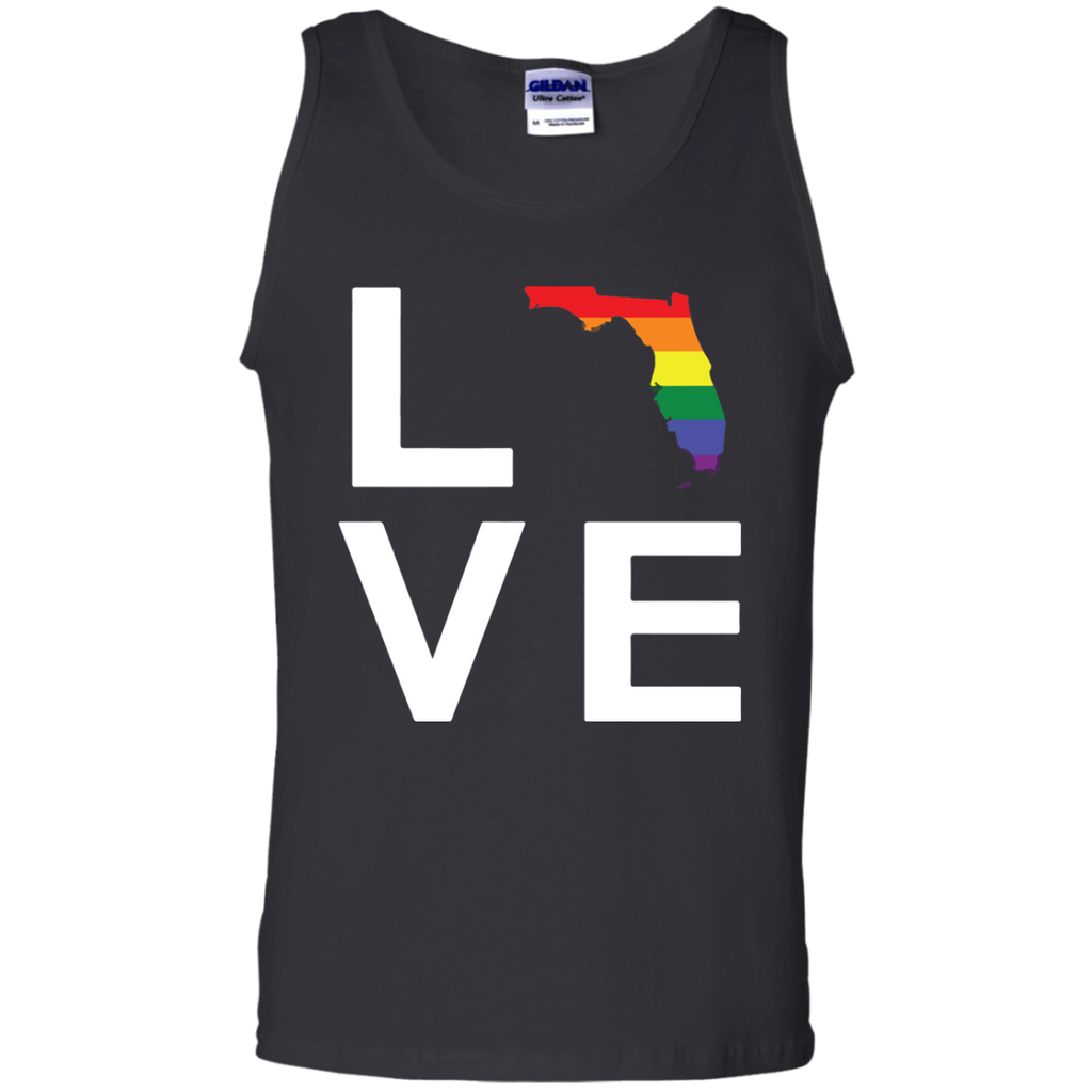 Love-Orlando-Florida-LGBT-Gay-Pride-Pray-Month-100%-Cotton-Tank-Top-Ash-S-