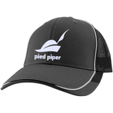 Piped-Piper-Logo---Silicon-Valley-Colorblock-Mesh-Back-Cap-Magnet-Grey/Black-One-Size-