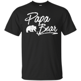Papa-Bear---Matching-Family-T-Shirt---Teeever.com-Black-S-