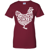 Life-Is-Better-With-Chickens-Ladies-T-Shirt---Teeever.com-Black-XS-