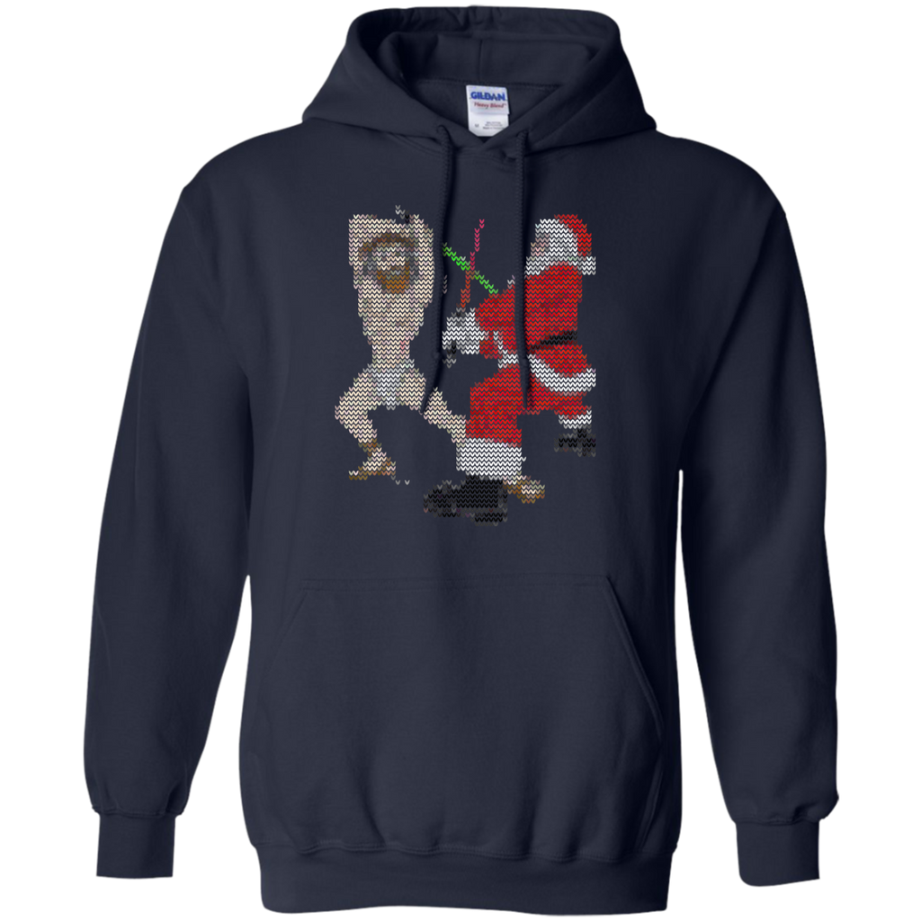 Gift-christmas,-happy-birthday-jesus,-funny-ugly-t-shirt,-LS,-Hoodie-Unisex-T-Shirt-Black-S