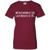 My-Password-Is-The-Last-8-Digits-of-Pi-Math-Funny-Math-Ladies'-T-Shirt-Black-X-Small-