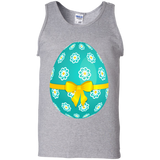 Sky_Blue_Easter_Egg_with_Flowers_and_Yellow_Bow_PNG_Picture-Tank-Top-Shirt-Sport-Grey-S-