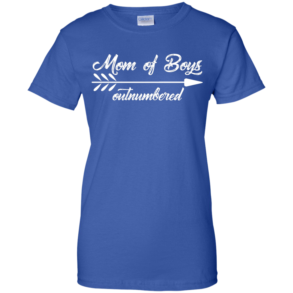 Mom-Outnumbered-of-boys-Shirt---Funny-Mother-Ladies-T-Shirt---Teeever.com-Black-XS-