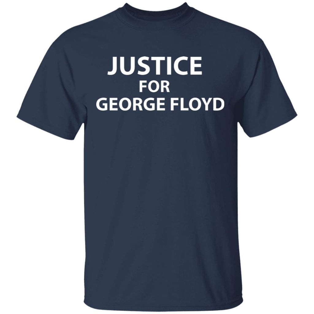Justice for George Floyd -  Protest for Death of George Floyd Men T-Shirt
