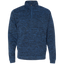 [TeeEver] America Men's Cosmic Fleece 1/4 Zip - No Prints-J