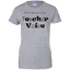 Don't-Make-Me-Use-My-Teacher-Voice---Men/Women-T-Shirt-Custom-Ultra-Cotton-T-Shirt-Sport-Grey-S
