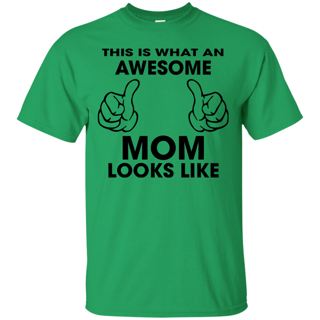 This-is-what-an-awesome-mom-looks-like---mother-day-T-Shirt---Teeever.com-Sport-Grey-S-