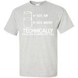 Technically-the-class-is-full-T-Shirt-Ash-S-