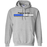 Downloading-Pappy-to-Be-Pullover-Hoodie-8-oz-Sport-Grey-S-