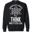 Think-While-it-is-Still-LEGAL-Scientists-March---Long-Sleeve-LS,-Sweatshirt,-Hoodie-LS-Ultra-Cotton-Tshirt-Black-S