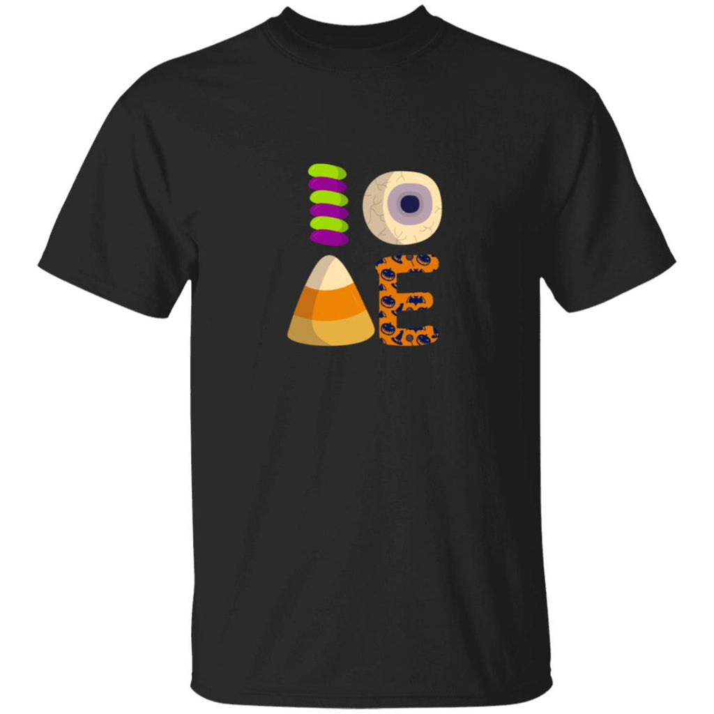 I Love Candy Halloween Treat Pumpkin T-Shirt