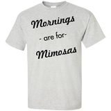 Mornings-are-for-mimosas-T-Shirt-Ash-S-