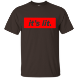 It's-Lit---Men/Women-T-Shirt-Custom-Ultra-Cotton-T-Shirt-Black-S