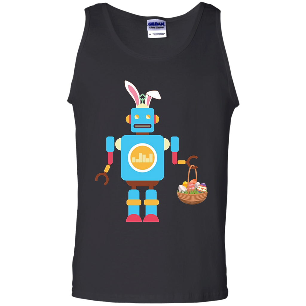 Robot-Easter-Bunny-Funny---for-Boys-Girls-Women-Men-Tank-Top---Teeever.com-Black-S-