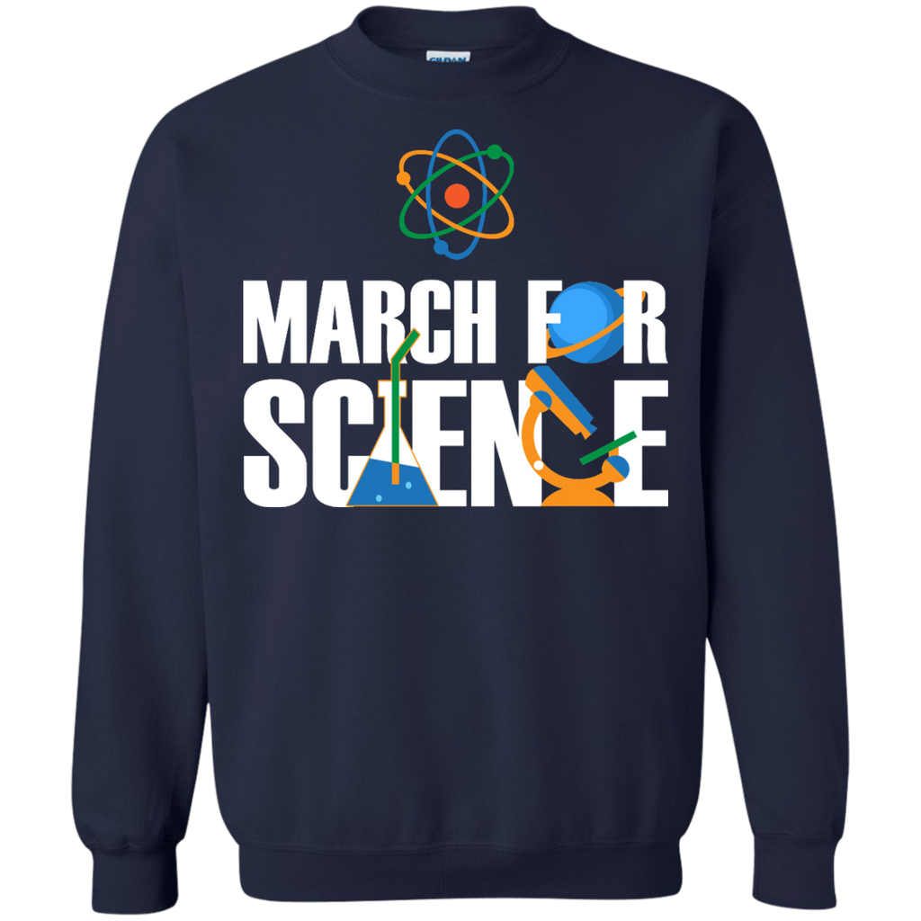 march-for-science---Long-Sleeve-LS,-Sweatshirt,-Hoodie-LS-Ultra-Cotton-Tshirt-Black-S