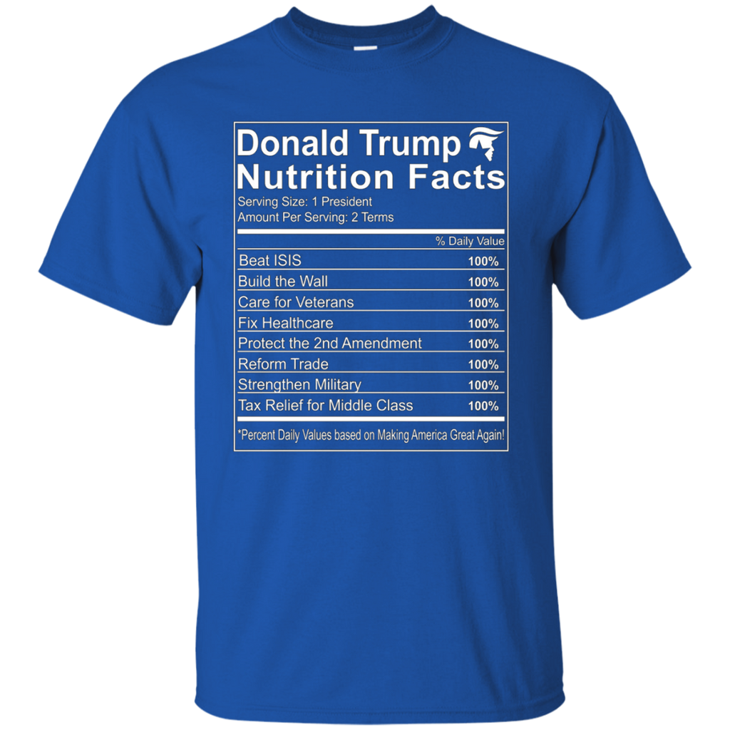 Donald-Trump-Nutrition-Facts---T-shirt,-Ladies-T-shirt-Custom-Ultra-Cotton-T-Shirt-Black-S