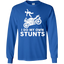 I-Do-My-Own-Stunts-Funny-Stuntman-Fly-Off-Motorcycle-LS-Tshirt---Teeever.com-Black-S-