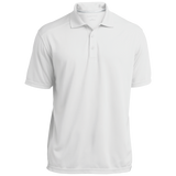 [TeeEver]-Micro-Mesh-Three-Buttoned-Polo---No-Prints-P-White-XS-