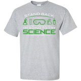 Stand-back-I-am-going-to-try-science-T-Shirt-Sport-Grey-S-